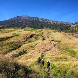 sembalun trekking route